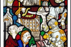 DETAIL OF STAIN GLASS by Phil Holmes