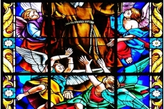 STAIN GLASS DETAIL - KIMPTON CHURCH by Jeff Moore
