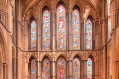 D_EAST WINDOW, WORCESTER CATHEDRAL by Tom Allison