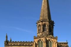 D-3-ALL SAINTS CHURCH BAKEWELL by tom allison