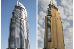 THE ADDRESS DUBAI BEFORE & AFTER NEW YEAR 2016 by Brian Crossland