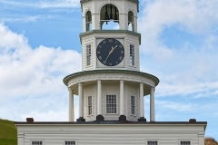 OLD TOWN CLOCK HALIFAX NOVA SCOTIA by Dave Rippon