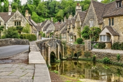 CASTLE COMBE by Harry Watson